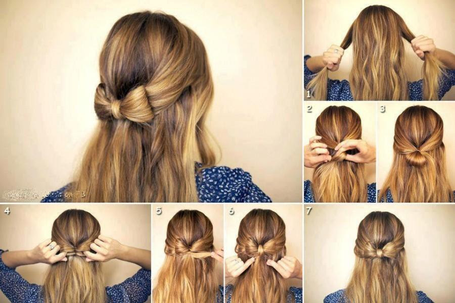 HAIR TUTORIAL Acconciatura elegante e romantica (super facile e  - acconciatura semplice capelli lunghi