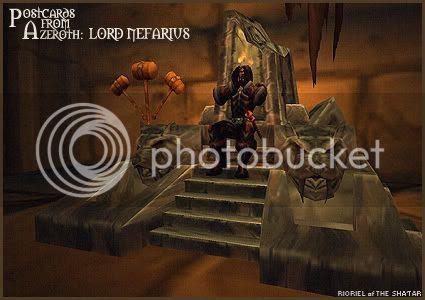 Postcards of Azeroth: Lord Nefarius