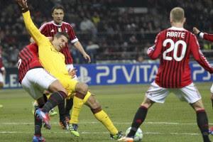 Арсенал ничего не смог противопоставить Милану