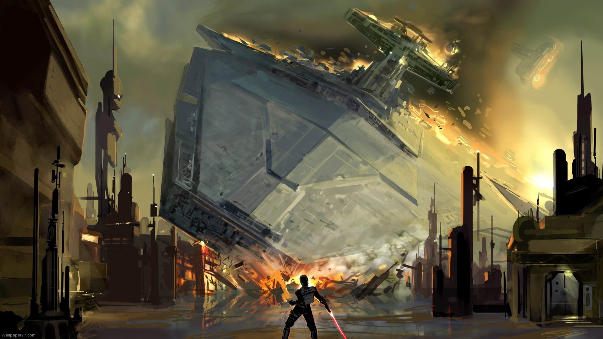Star Wars Concept Art Wallpaper 67 Images