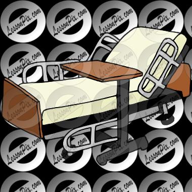 Empty Hospital Bed Cartoon | BangDodo