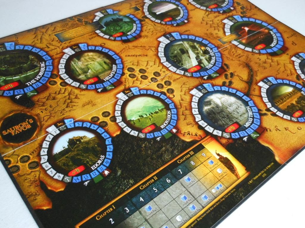 The Lord of the Rings: Nazgul board