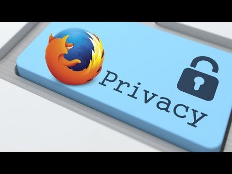 Basic Firefox privacy configuration