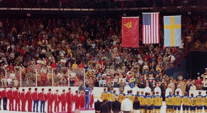 1980 Medal Ceremony