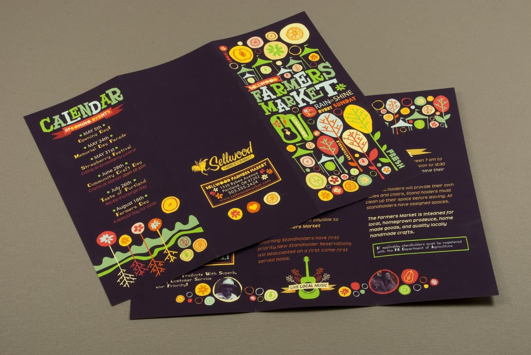 35 Creative Examples of Brochure Designs for Inspiration