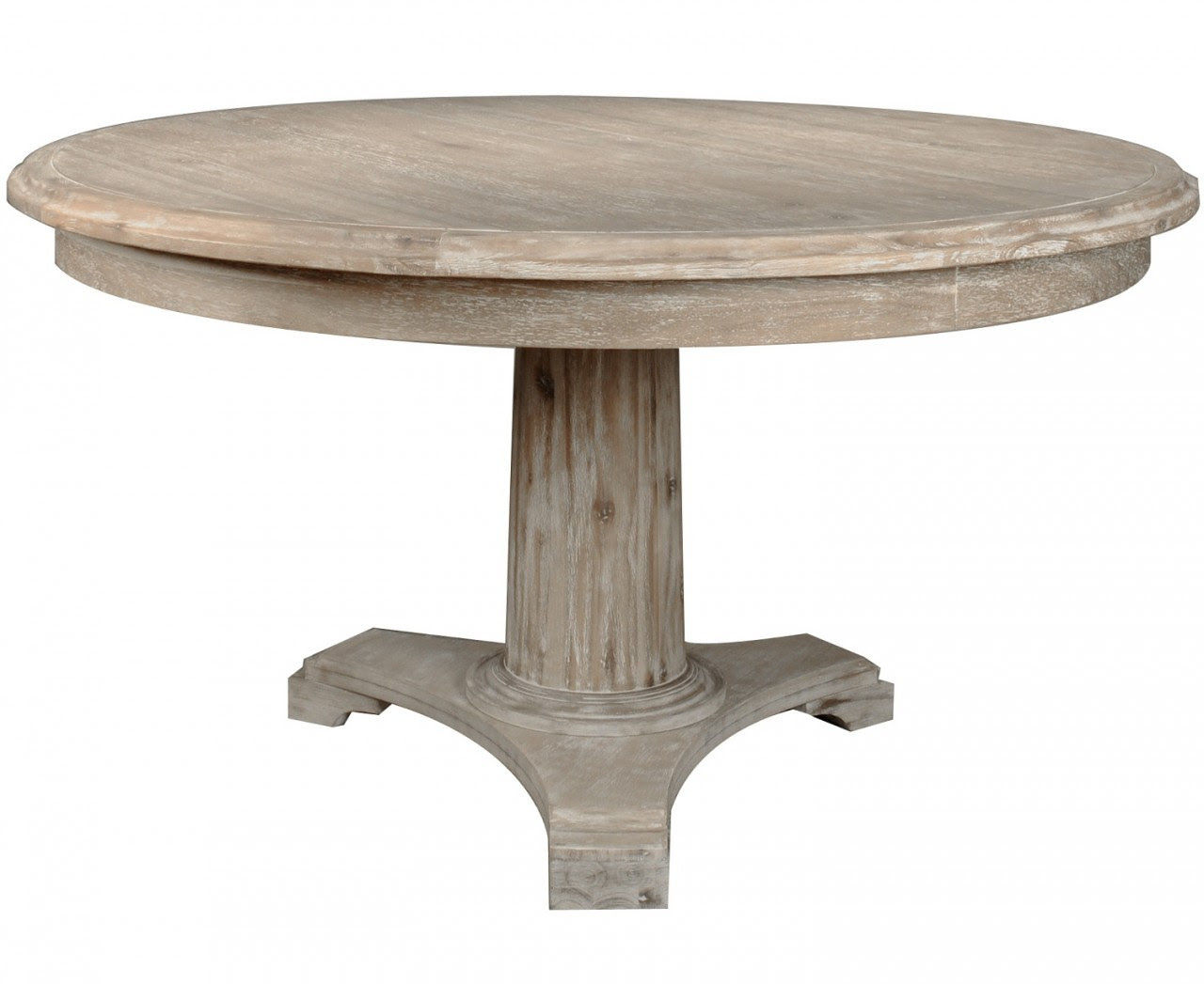 Round Wooden Kitchen Table Distressed Wood Round Kitchen Table Cliff Kitchen