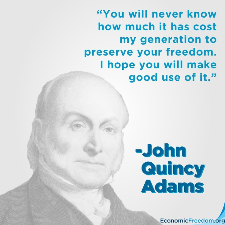 Image result for John Quincy Adams Quotes