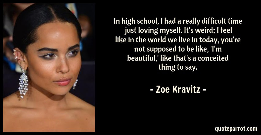 In High School I Had A Really Difficult Time Just Lovi By Zoe
