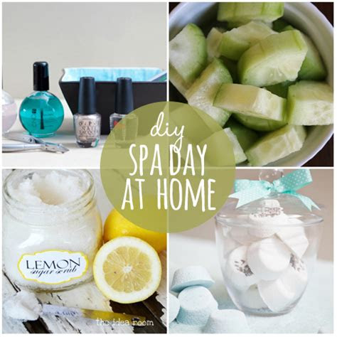 pamper  diy tips   spa day  home babble