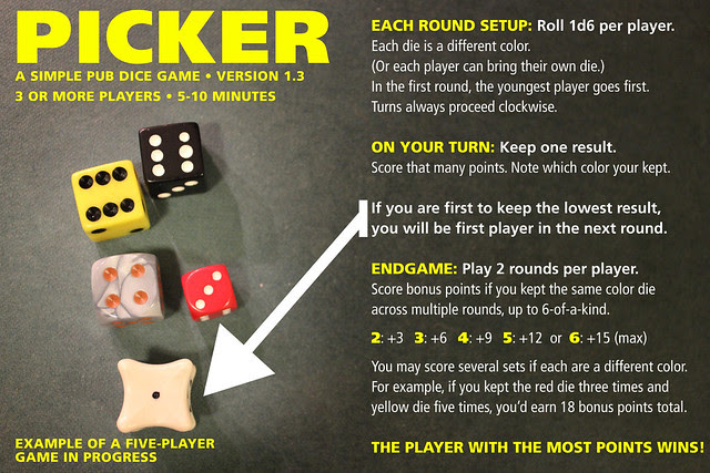 Picker Dice Game 1.3