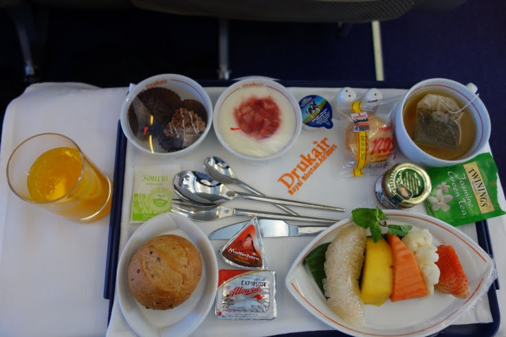 Druk Air Food