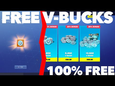 How To Get Free V Bucks Without Hacking | V Bucks Store 2019