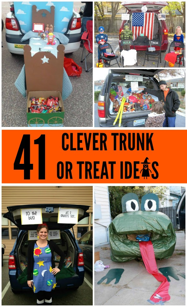 41 Trunk Or Treat Ideas Craft