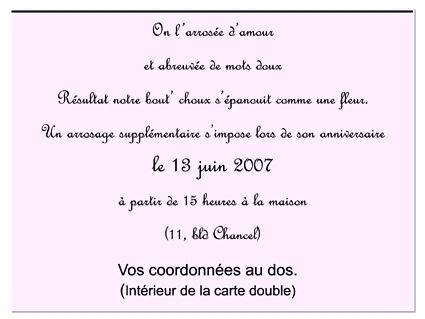 Invitation Anniversaire 18 Ans Texte Elevagequalitetouraine