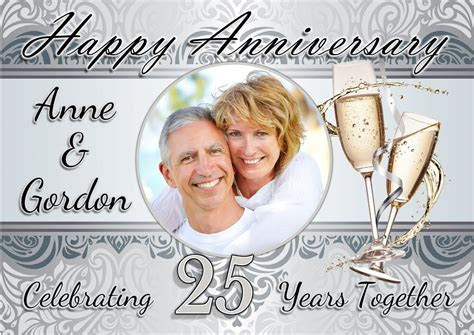 25th wedding anniversary invitations templates free