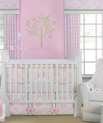 Wild Animal Print Baby Crib Nursery Bedding Giraffe