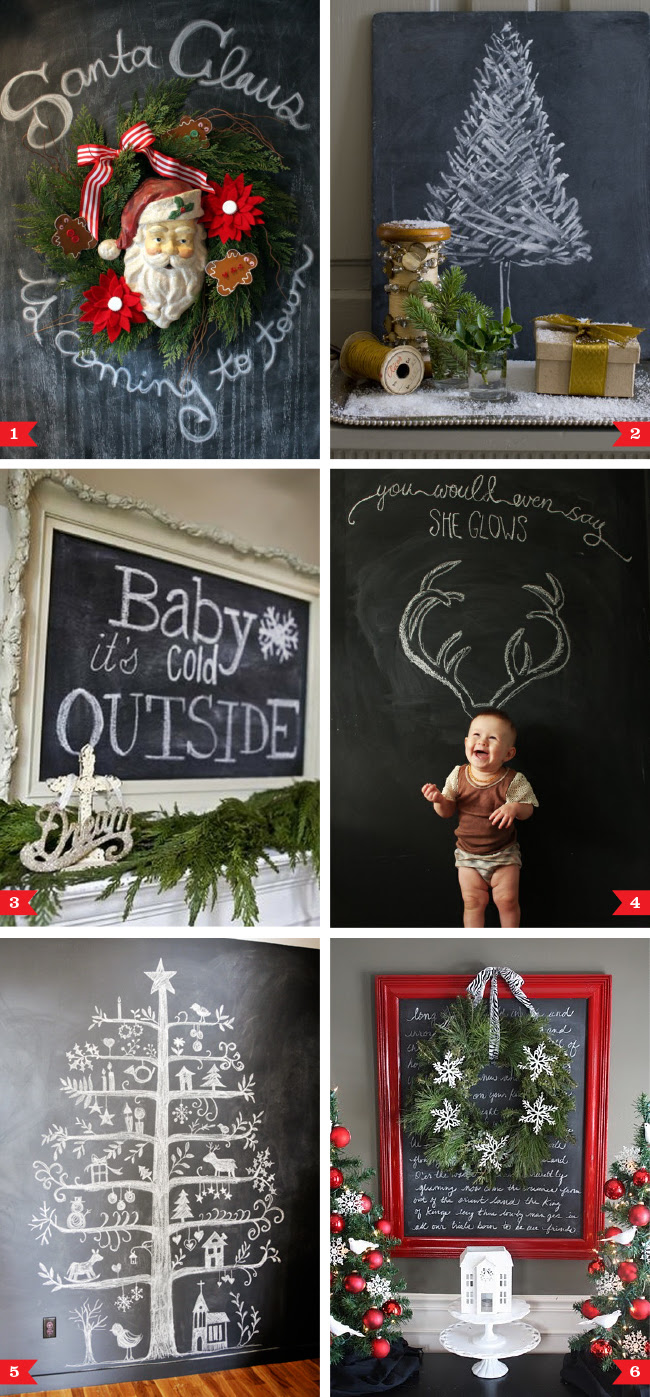 2012 · Posted under chalkboard , Christmas , DIY holiday decor