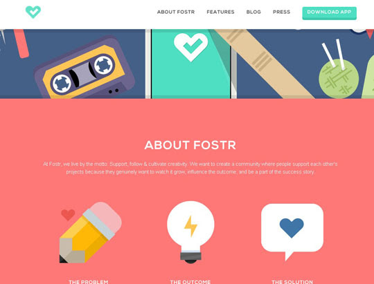 56.flat websites Beautiful Examples Of Flat Web Design