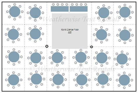 Seating Plans   Weatherwise Tent Rentals Inc.