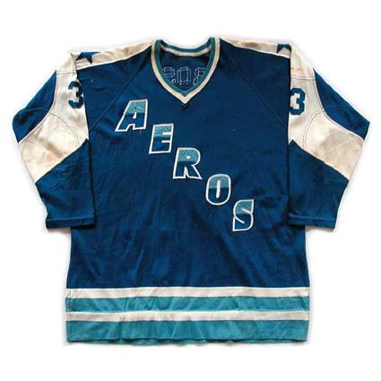 Houston Aeros 1972-73 F jersey