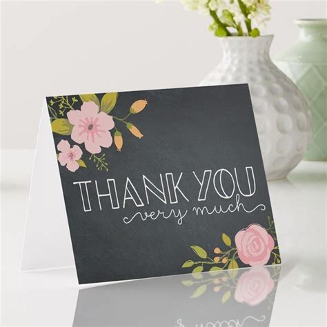 Custom Wedding Thank You Note   Vistaprint