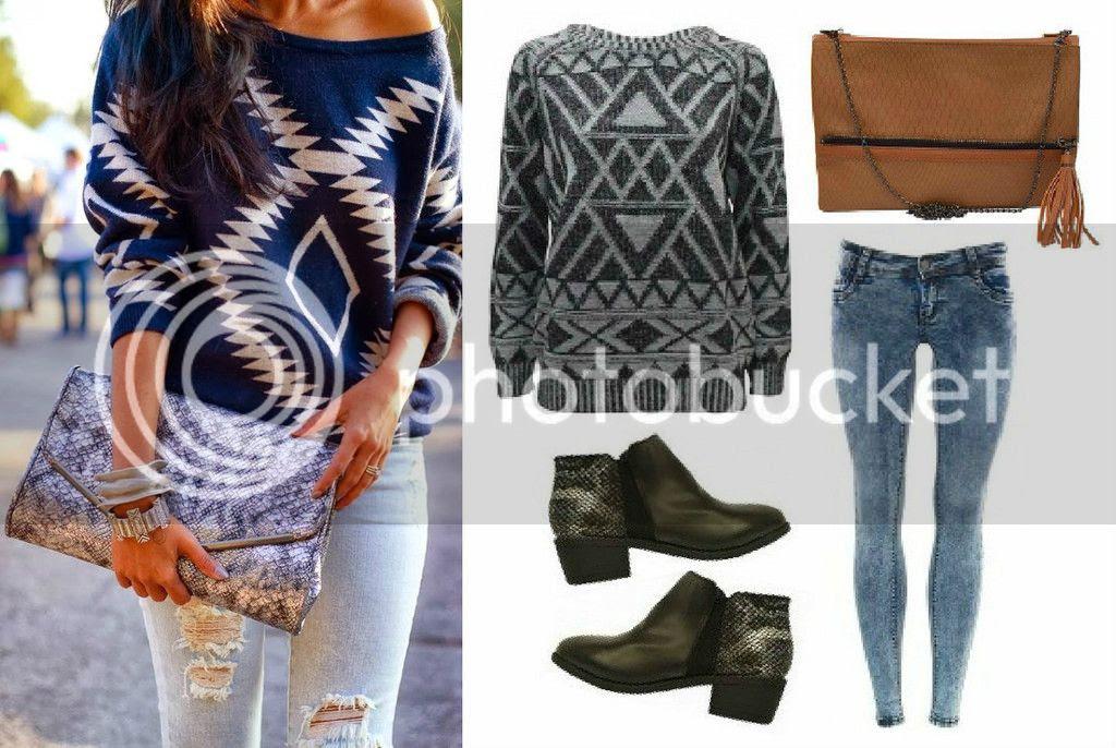 Modest Mix Sevenbien aztec outfit inspiration