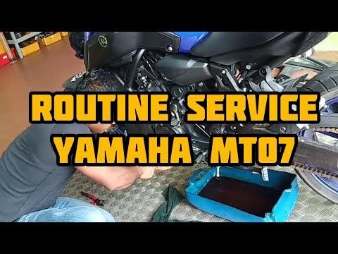Service routine MT07 | Bike Empire Kuantan