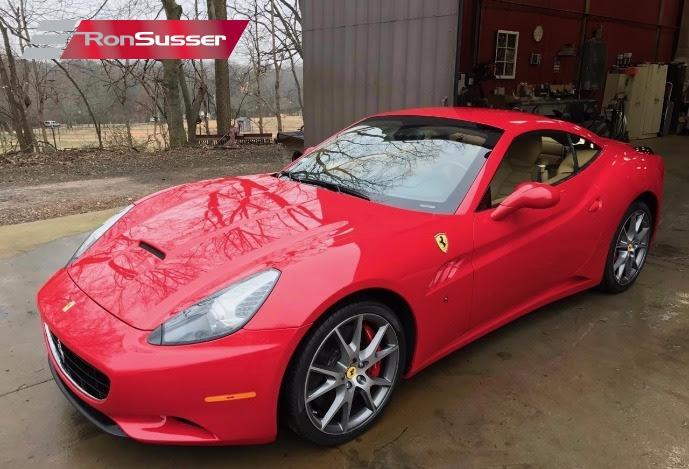 2010 Ferrari California Hardtop Convertible Red/Tan 24K ...