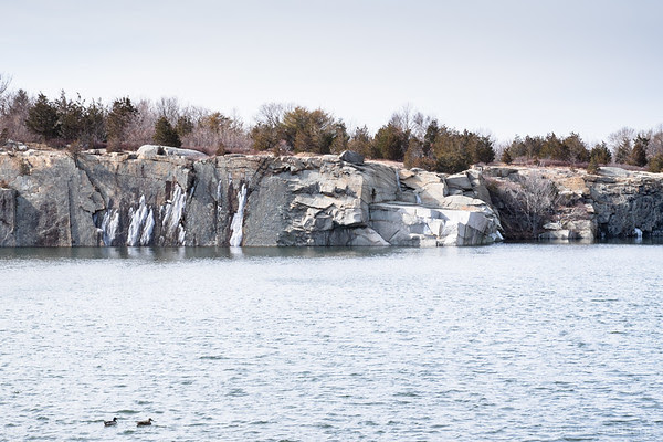 quarry at Halibut Point State Park