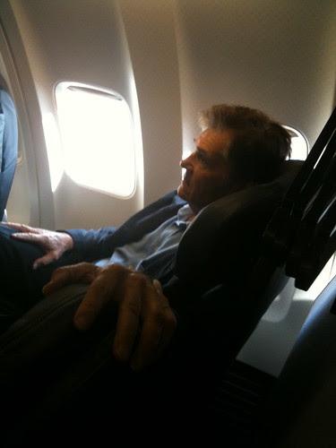 Fellow passenger, Fred Willard