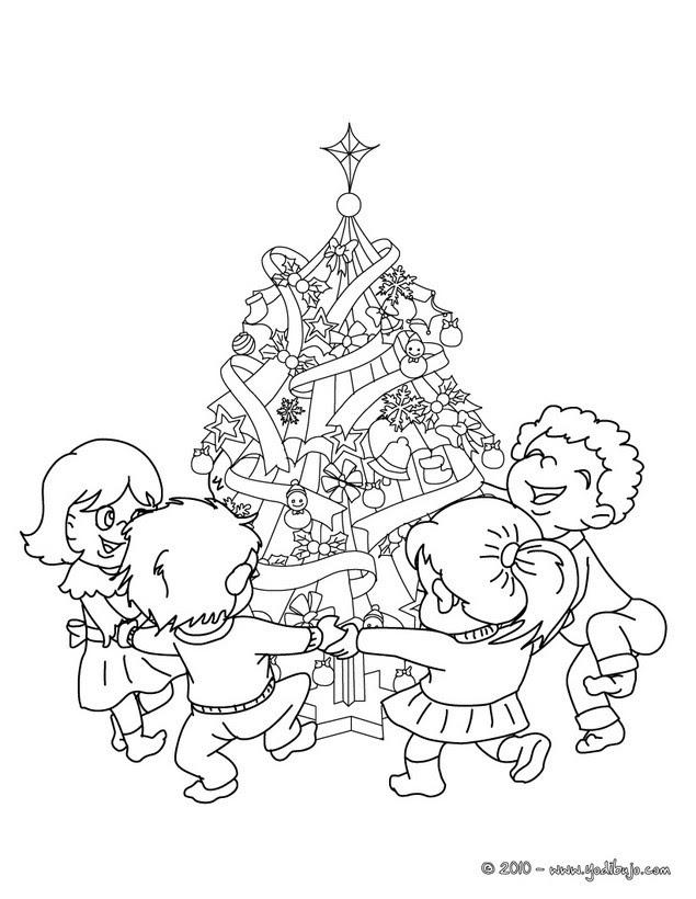 Dibujo Navidad Colorear Infantil