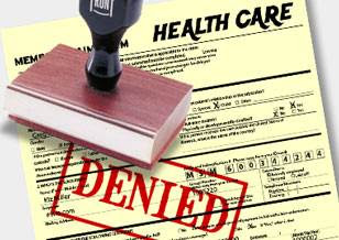 Health care denied