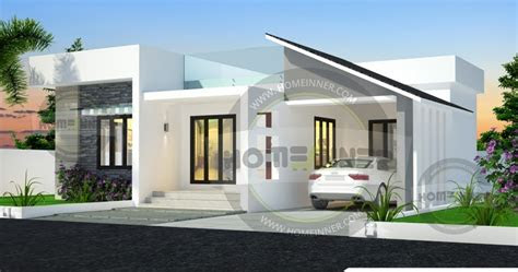 contemporary style bhk simple home design