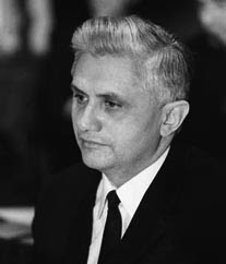 Joseph Ratzinger in a photo from 1971