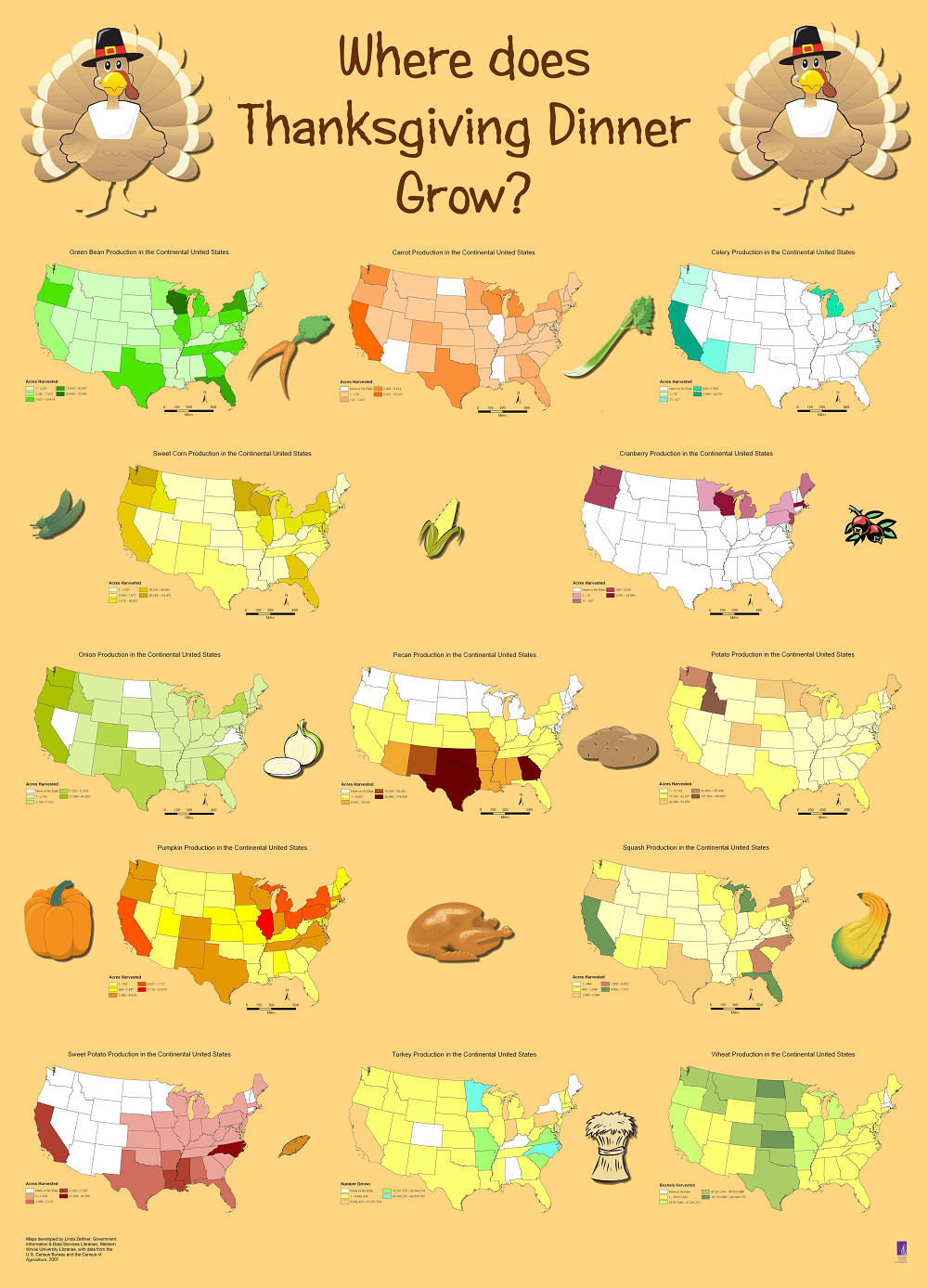 Thanksgiving Resources Geography Education