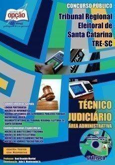 Apostila Concurso TRE de Santa Catarina - SC 2015.