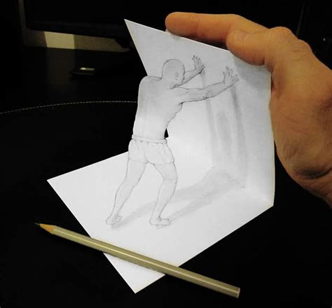 attractive  drawing anamorphic art xcitefunnet