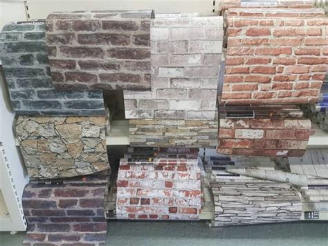 Brick Effect Wallpaperfeature Wall Cheap Bargain For Sale