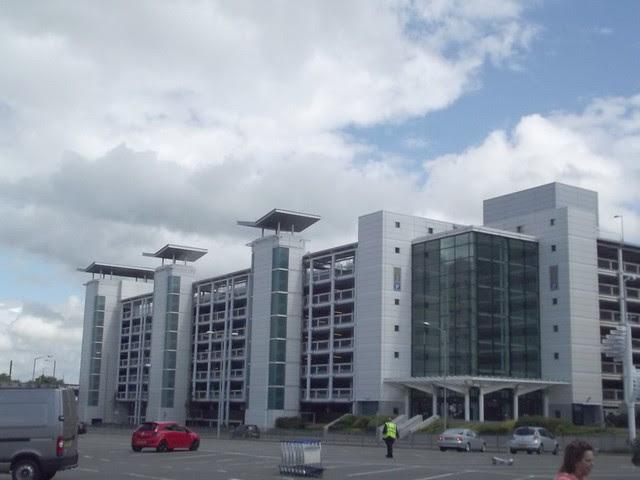 Birmingham Airport - multi-storey car park