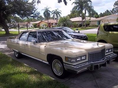 Cadillac Fleetwood 1976 Cars for sale