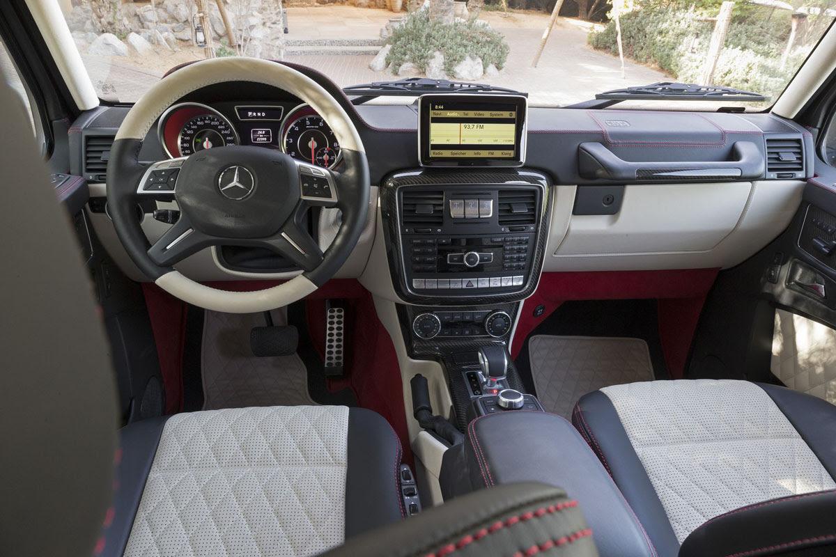 Military Version of Mercedes G63 AMG 6X6 - eXtravaganzi