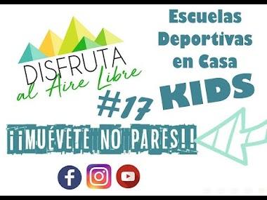Como hacer DEPORTE en CASA para NIÑOS #Sesión17