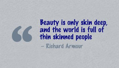 Quotes About Beauty Skin 64 Quotes