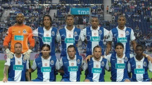 FC Porto 2009/2010 frente ao Nacional