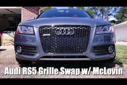 2009 Audi S5 Grill