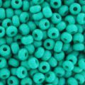 Mini-rocailles 2 mm Green Turquoise x10g