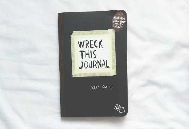 wreck this journal example uk lifestyle blog vivatramp