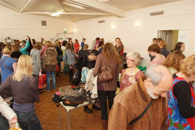 Picture of people at the 2011 Clothes Swop