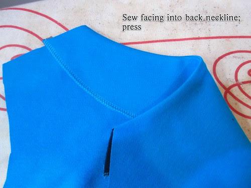 Face Back Neckline