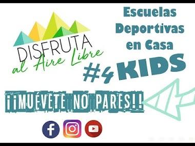 SEGUNDA SEMANA COMPLETA DE ESCUELAS DEPORTIVAS EN CASA - KIDS.